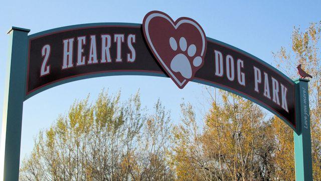 2 Hearts Dog Park